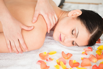 Relax with Massage and Soothing Floral Essential Oils in Charleston, SC