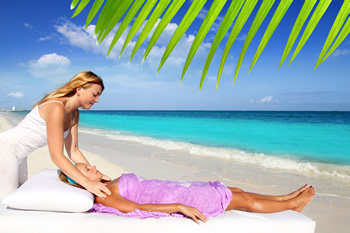 Feel as though you've been whisked away to a tropical island paradise!  Relax and de-stress with massage